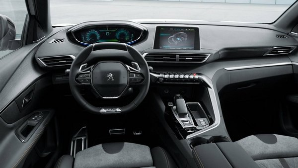 electrified Peugeot 3008 GT 2019 interior
