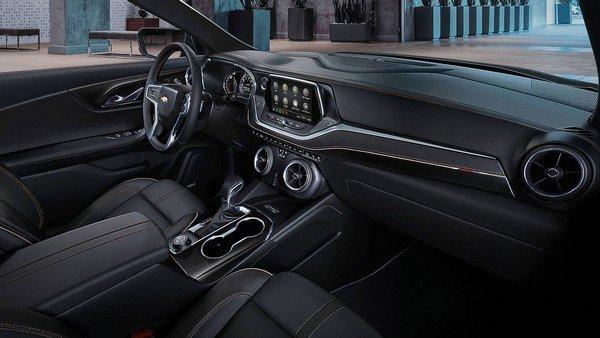 Chevrolet Blazer 2019 dashboard area