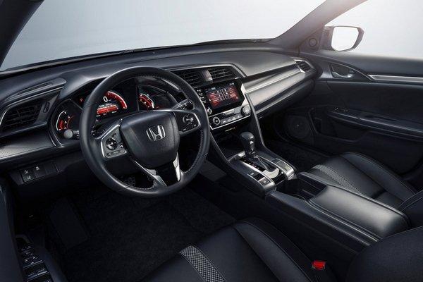 Honda Civic 2019 dashboard