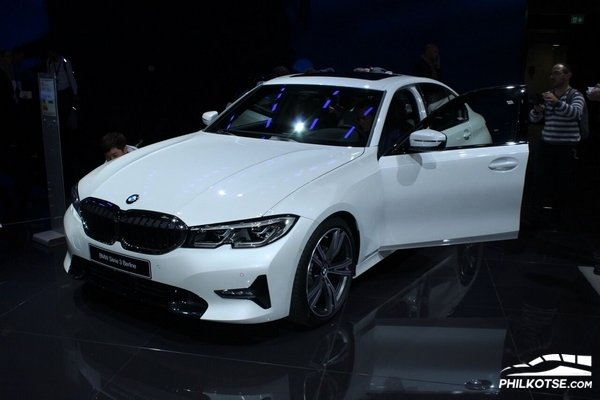 Bmw 3 Series 2019 at 2018 Paris Motor Show