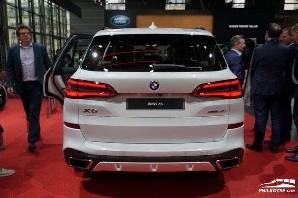 BMW X5 2019 rear view