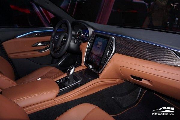 VinFast LUX S2.0 at 2018 Paris Motor Show - cabin