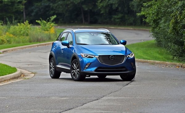 mazda cx3 2018 angular front