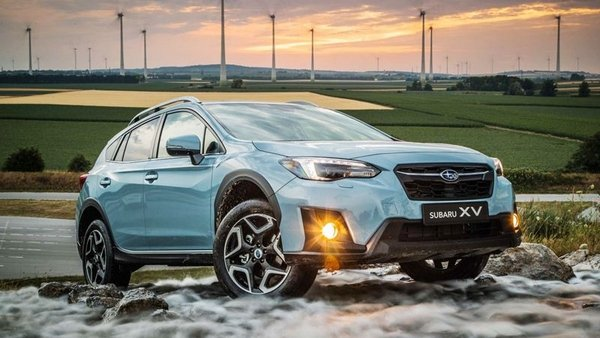 subaru xv 2018 on exterior