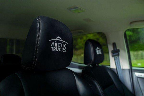 Isuzu D-Max Arctic Trucks AT35 seats