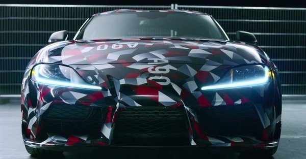 Toyota Supra 2019 front view