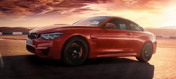 The High Performance M4 Coupe Gains M Badge