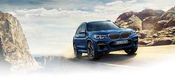 2018 BMW X3 exterior