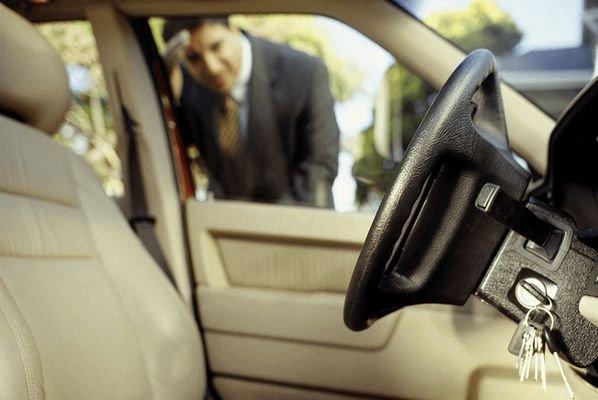leaving car keys inside the vehicle