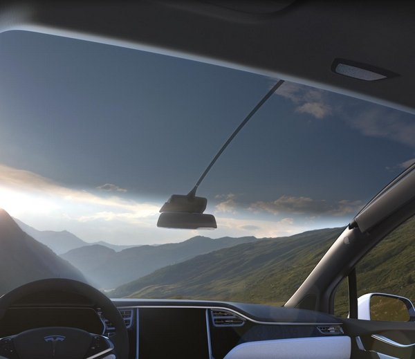 car windshield