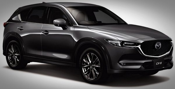 Japanese-spec Mazda CX-5 2019 - angular front