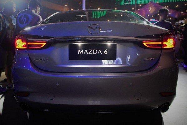 Mazda 6 rear view