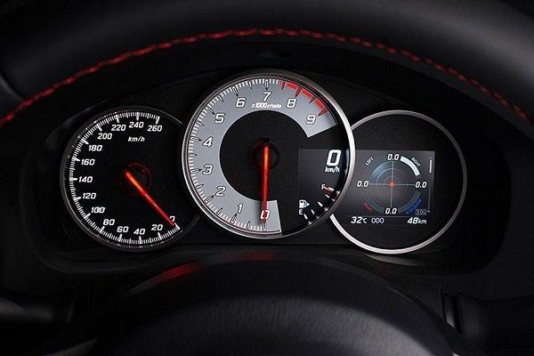 Toyota 86 tachometer