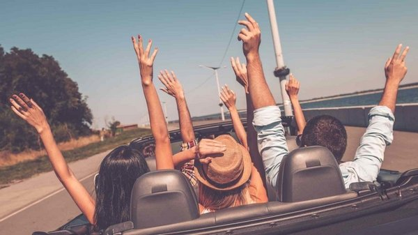 road trip with friends