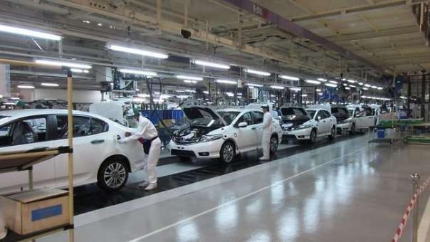 Manufacturing Honda cars