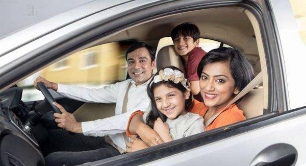 wear seatbelts in car