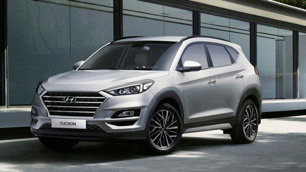 Hyundai Tucson 2018 facelift angular front