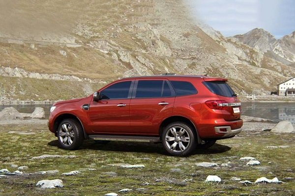 Tough looking Ford Everest