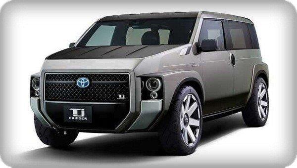 Toyota TJ Cruiser Concept angular front