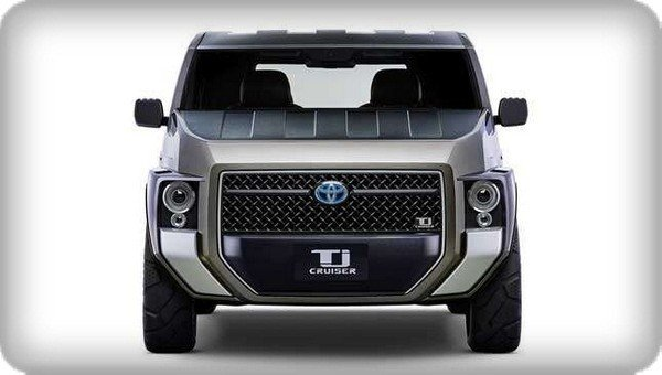 Toyota TJ Cruiser Concept front view