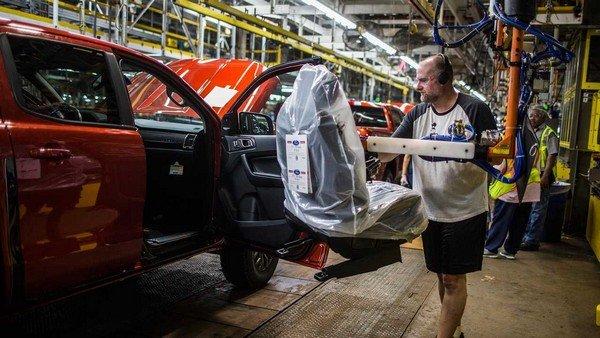 Ford Ranger 2019 production