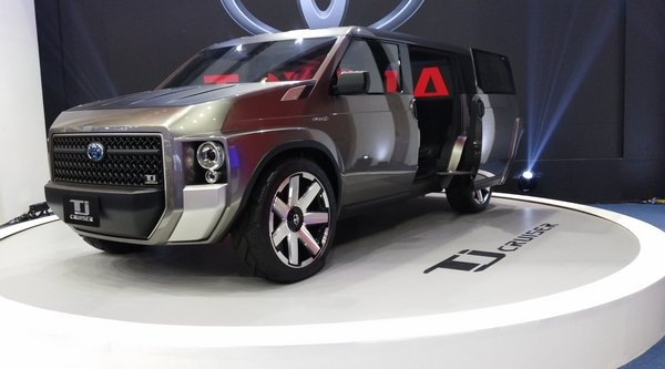 Toyota TJ Cruiser concept at PIMS 2018