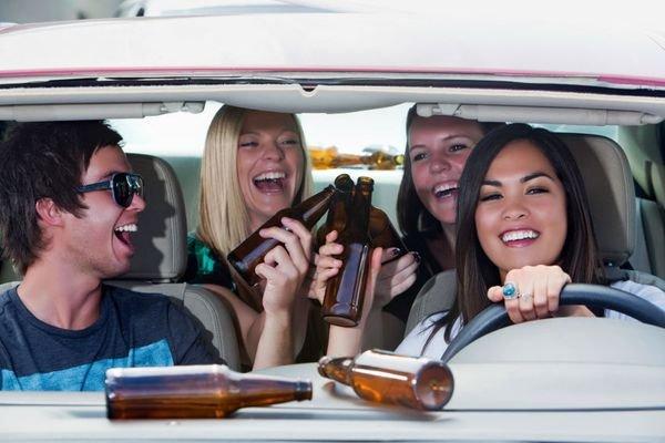 drunk driving among teenagers