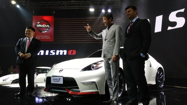 Nissan head of Asia & Oceania, NISMO chief product specialist, and Nissan Philippines president
