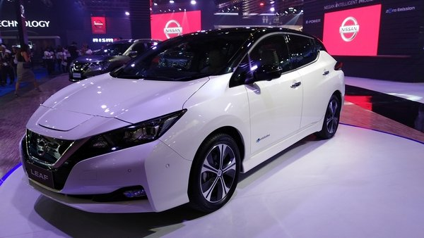 nissan leaf at pims 2018