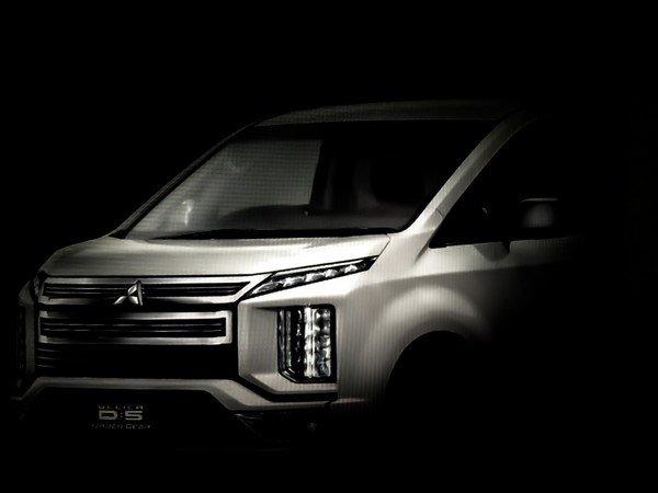 Spied Mitsubishi Delica D:5 2019 angular front