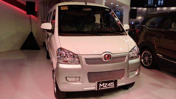 BAIC MZ45 front view