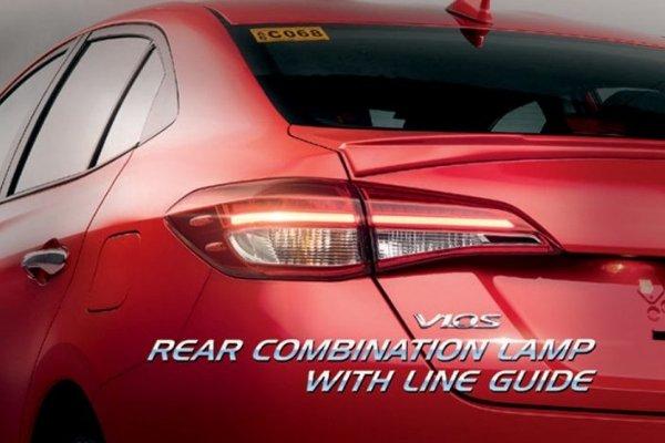 Toyota Vios 2019 taillight