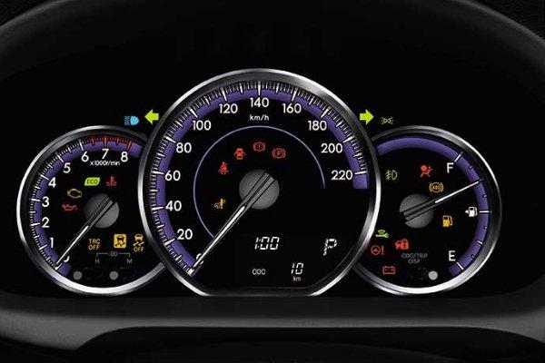 Toyota Vios 2019 Optitron meter gauge
