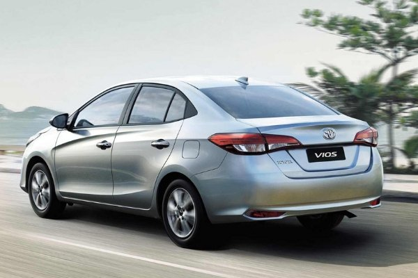 Toyota Vios 2019 angular rear