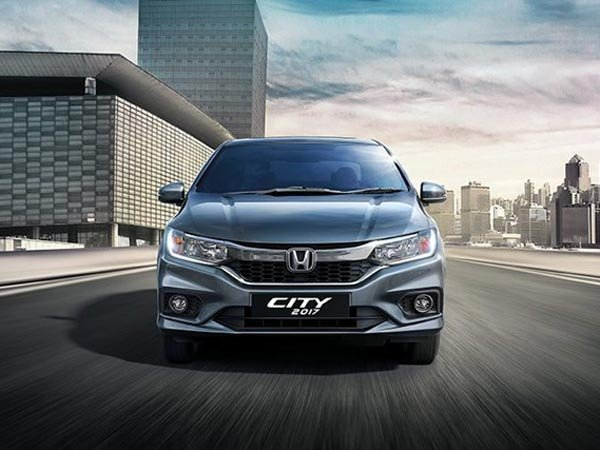 Honda City 2017 facelift