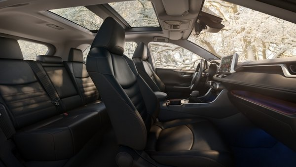 toyota rav4 2019 limited interior