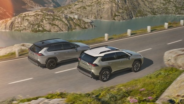toyota rav4 2019 models on the road