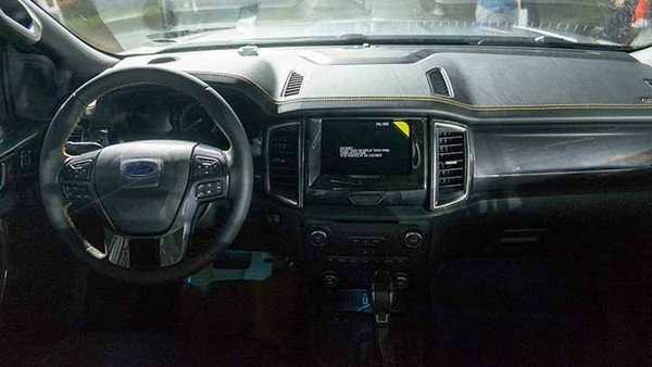 Ford Ranger 2019 dashboard area