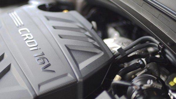 Hyundai Santa Fe 2019 engine