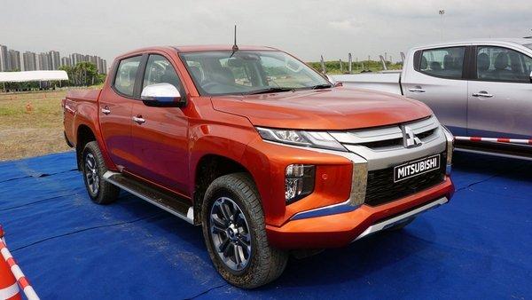 Mitsubishi Strada 2019 exterior