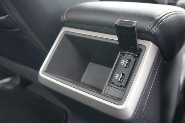 Mitsubishi Strada 2019 usb ports