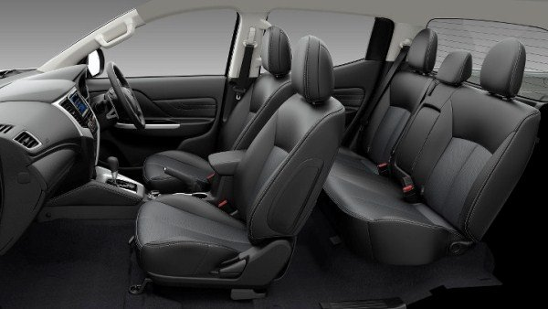 Mitsubishi Strada 2019 interior