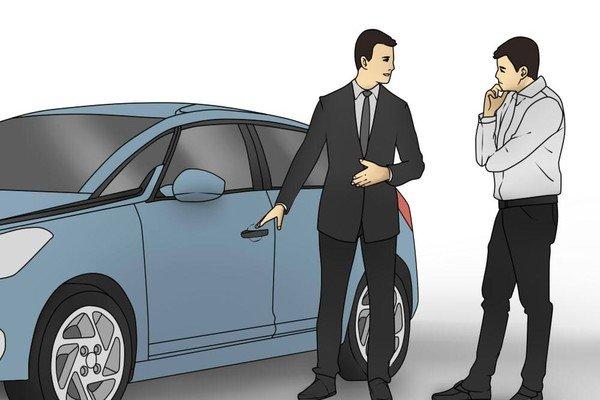 curious car buyer