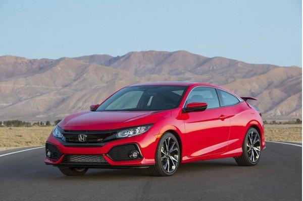 Honda Civic 2019 sedan angular front