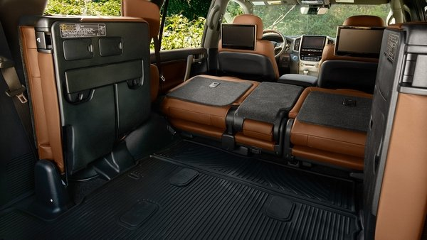 2019 land cruiser foldable seats