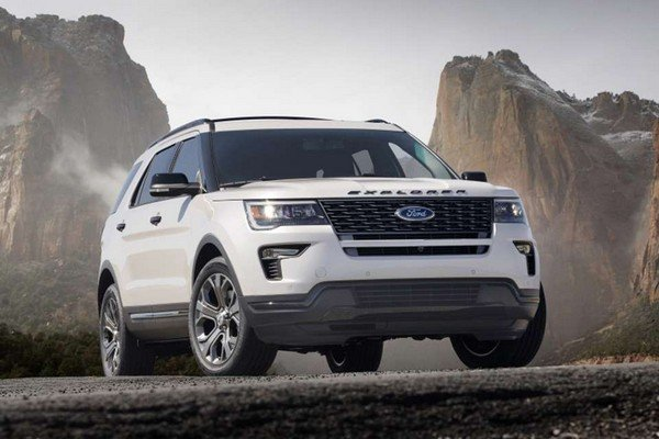 Ford Explorer 2019 front view