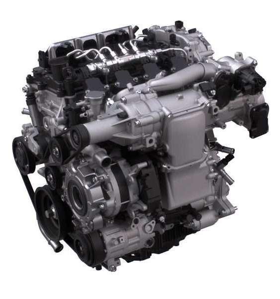 mazda skyactiv x engine