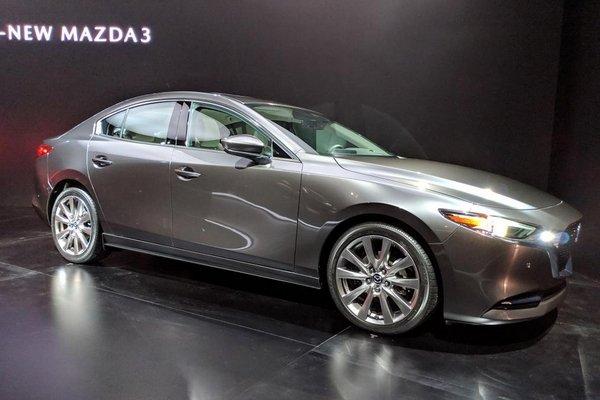 Mazda 3 2019 exterior at LA