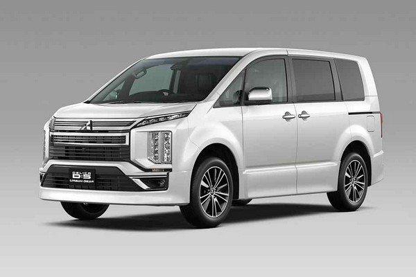 Mitsubishi Delica D:5 2019 front look