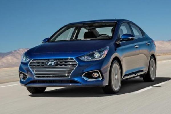 Hyundai Accent angular front